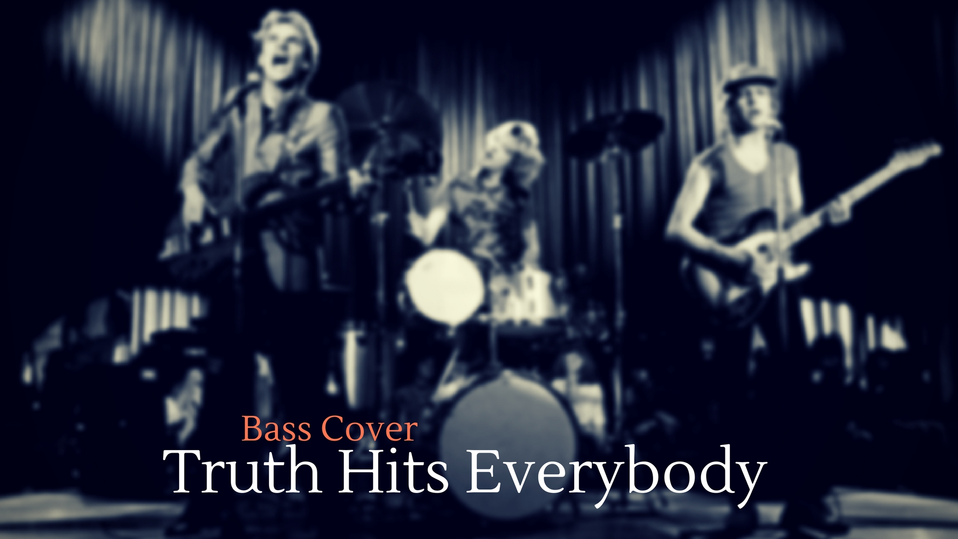 Truth hits everybody bass cover