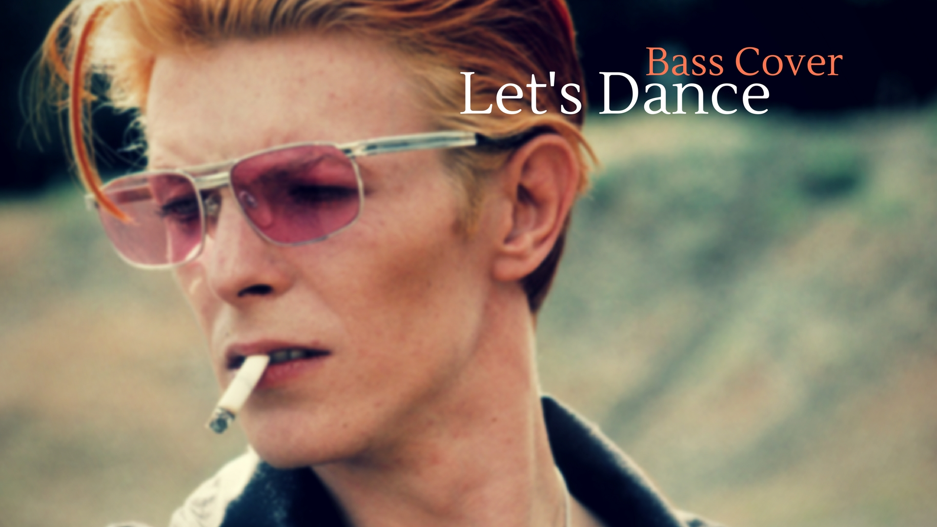 Let's dance bass cover