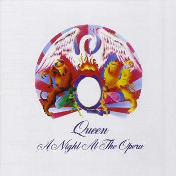 Copertina dell'album A night at the opera dei Queen