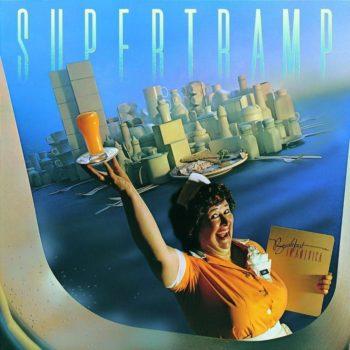 Copertina dell'album breakfast in america dei supertramp
