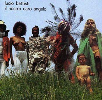 Copertina dell'album di Lucio Battisti intitolata Il nostro caro angelo