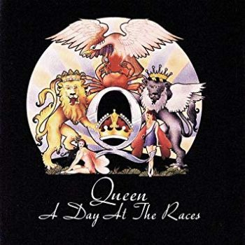 Copertina dell'album a day at the races dei Queen