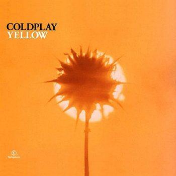 Copertina album Yellow dei Coldplay