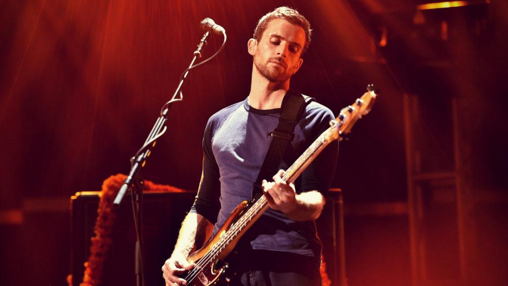 Il bassista dei Coldplay Guy Berryman