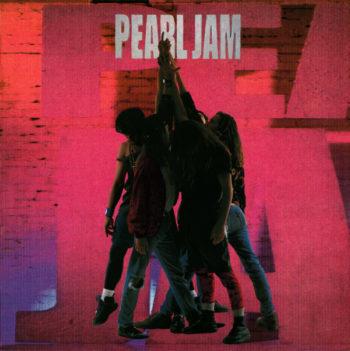 Copertina dell'album Ten dei Pearl Jam