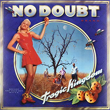 Copertina dell'album Tragic Kingdom dei No Doubt