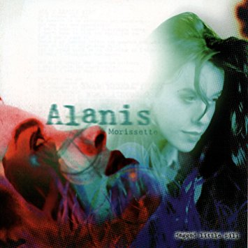 Copertina dell'album Jagged Little Pill di Alanis Morissette