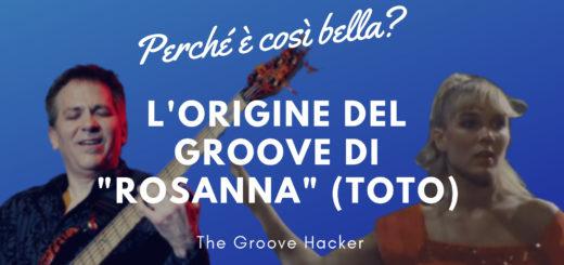 Trascrizione per basso elettrico di Rosanna dei Toto