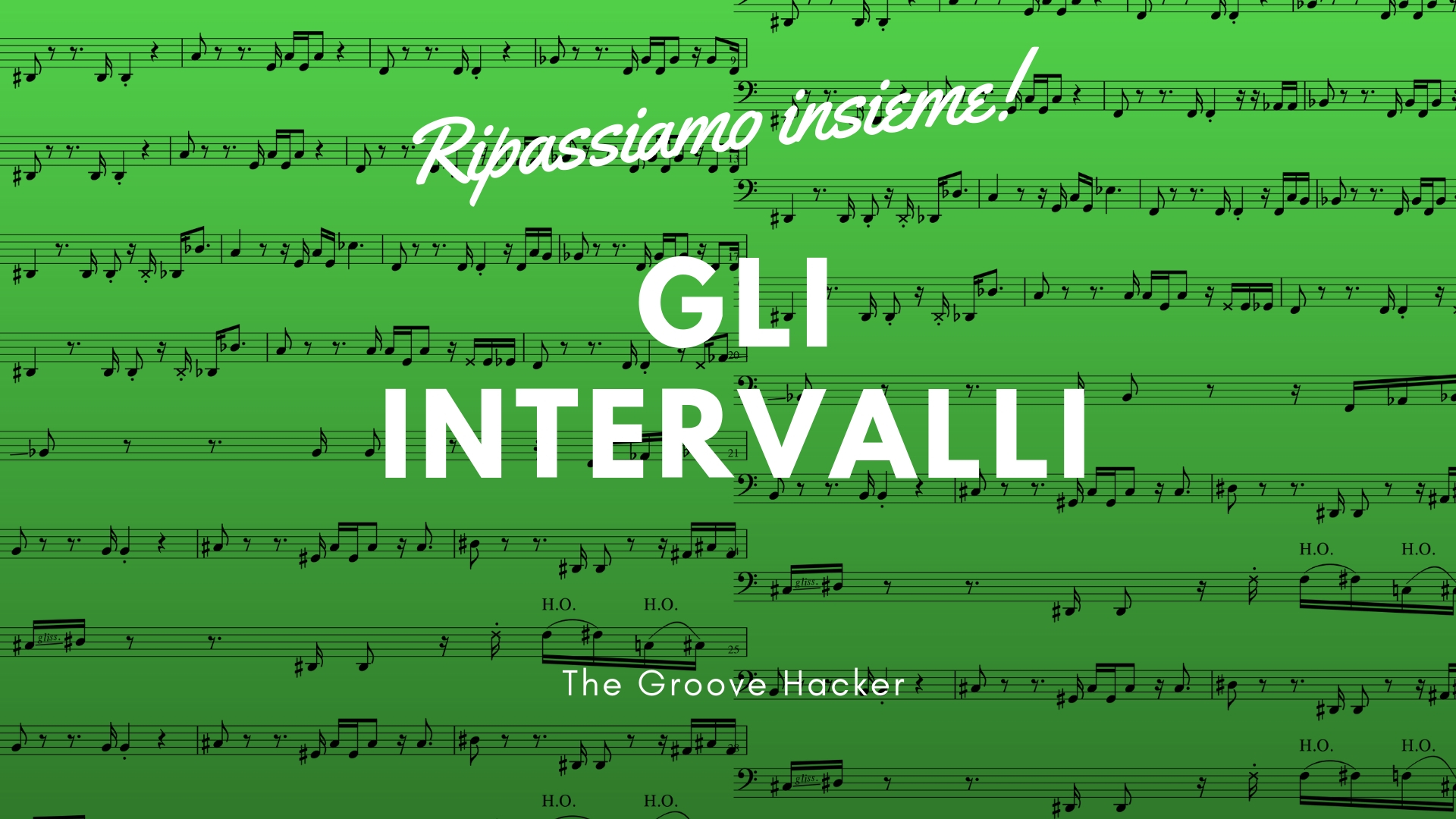 Gli intervalli musicali per basso elettrico