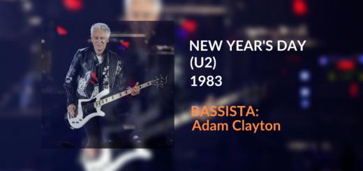 Trascrizione per basso elettrico di New Year's Day degli U2