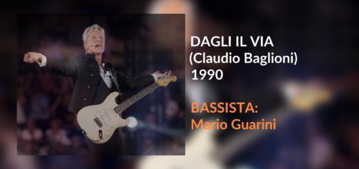 Trascrizione per basso elettrico Dagli il Via di Claudio Baglioni