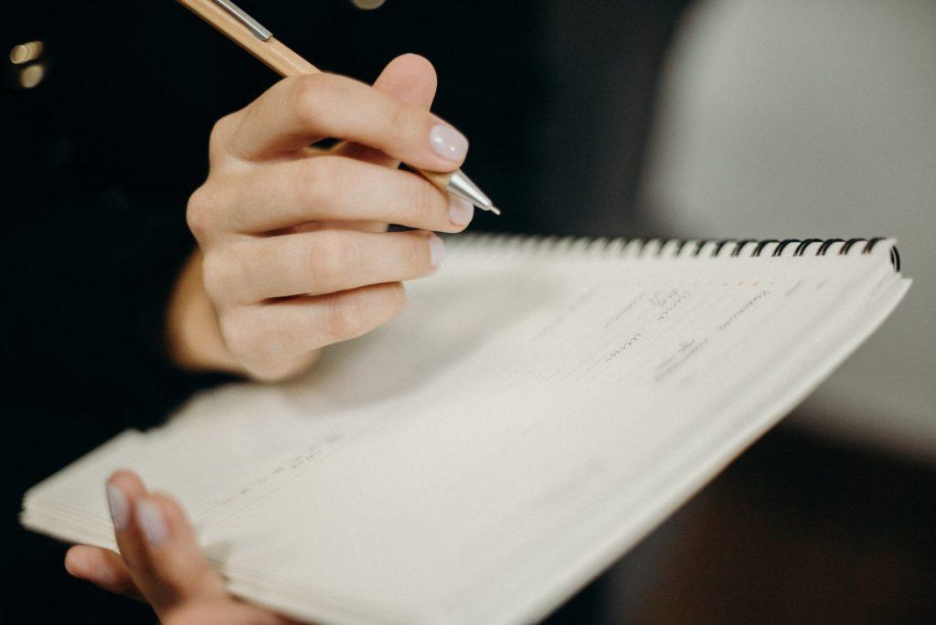 L'importanza di tenere un diario dei proprio studi musicali