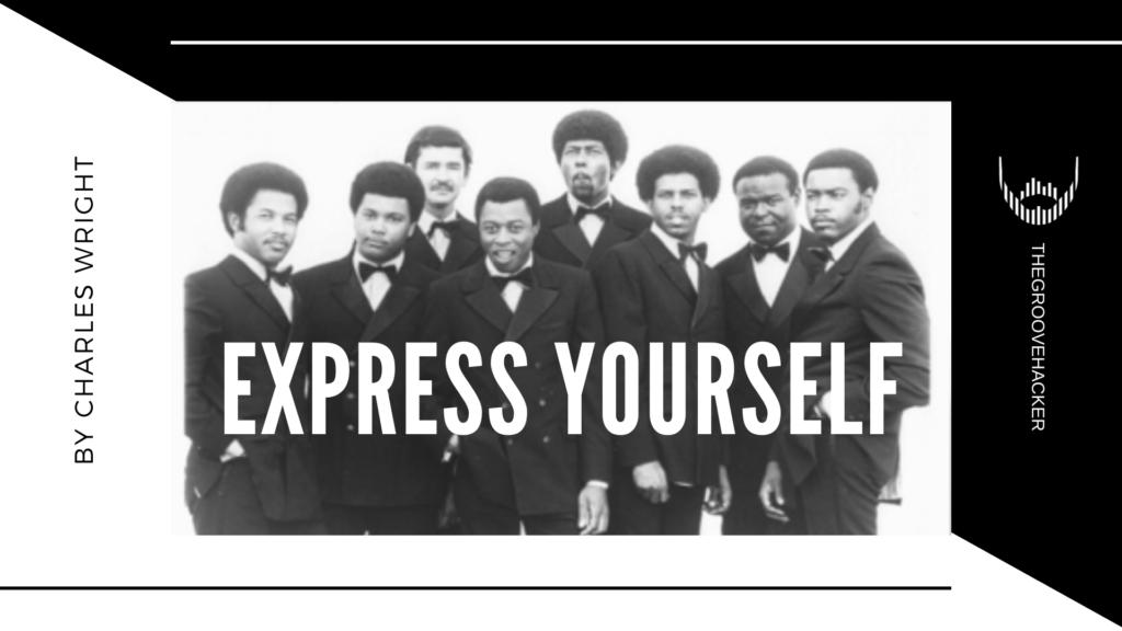 Trascrizione per basso elettrico di Express Yourself di Charles Wright