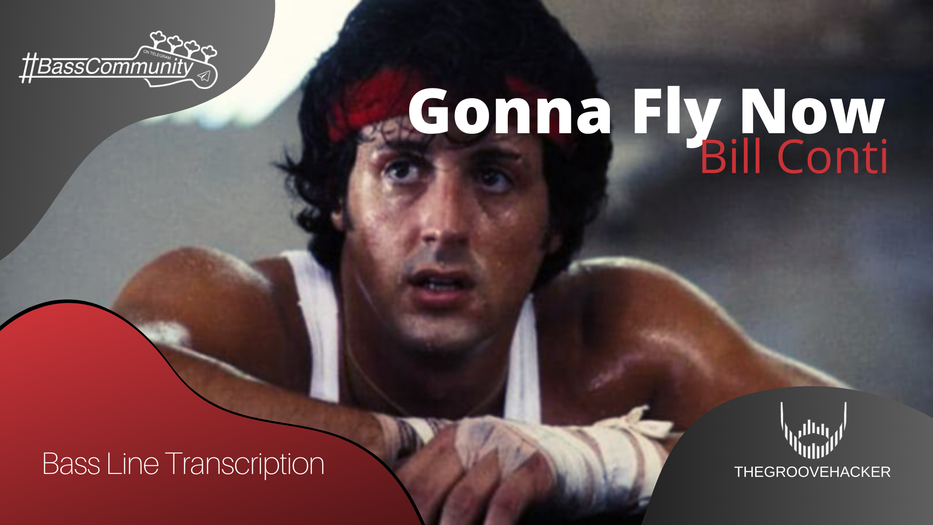 Trascrizione per basso elettrico di Gonna Fly Now (Rocky Theme) di Bill Contii