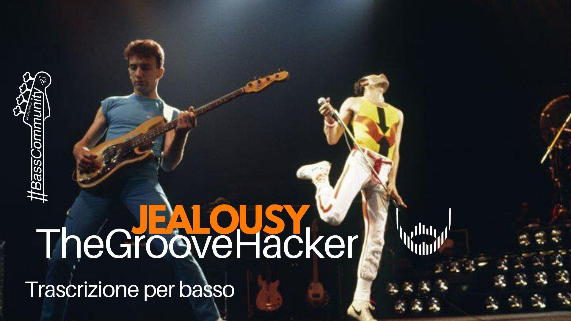 Trascrizione per basso elettrico di Jealousy dei Queen